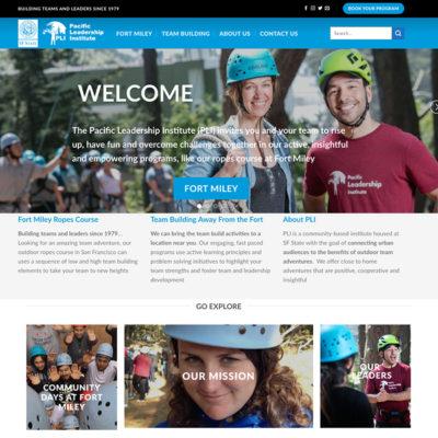 Pacific Leadership Institute Website