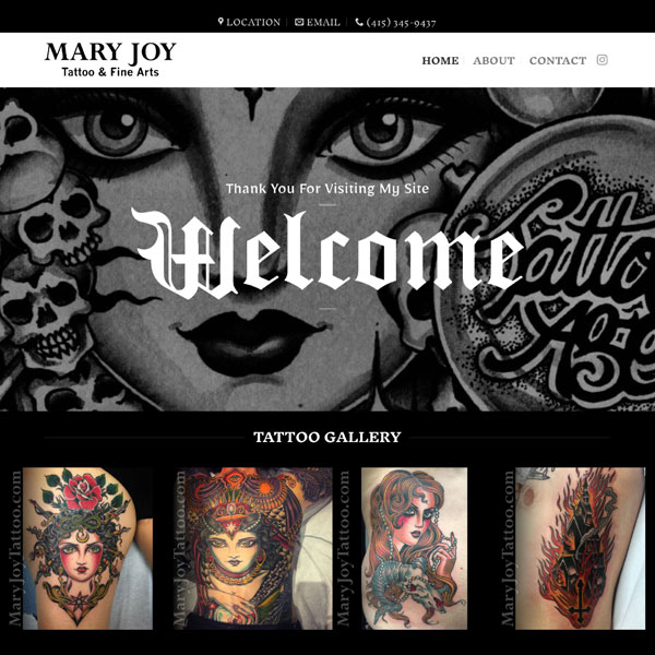 Mary Joy Tattoo