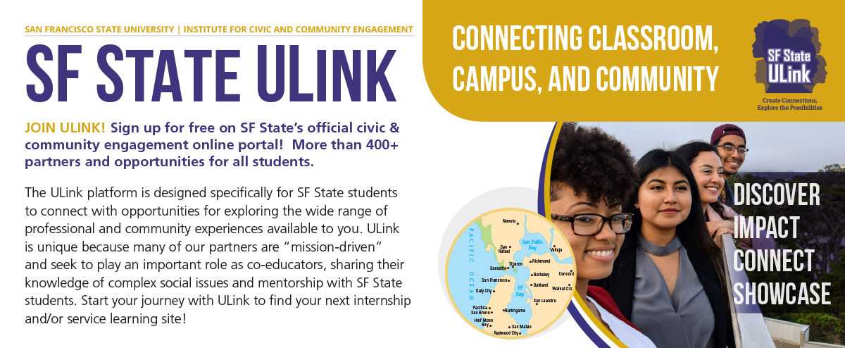 SF State, Institute for Civic and Community Engagement (ICCE)